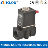 2p025-06-DC24V Thread Connection Plastic Solenoid Valve 24V