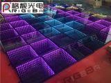 LEIDEN van de Spiegel van WiFi DMX van de Groothandelsprijs van Rigeba 3D Draagbaar Dance Floor voor de Gebeurtenis van de Partij van de Staaf van het Huwelijk KTV van DJ van de Disco