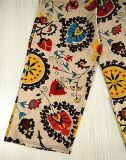 Form kleidet Leinenfreizeit-Frauen-breite Hose