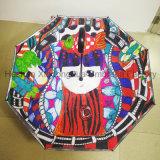 Un parapluie inversé personnalisé à impression intégrale pour cadeau promotionnel (SU-0023I)