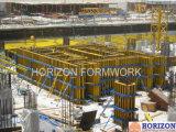 Film preto Faced Plywood Formwork para Wall, Column e Slab