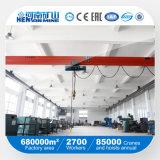 Grua elétrica quente do guindaste aéreo da viga da venda e do fornecedor de China única com o certificado industrial geral do Ce