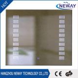 Heiße beleuchteter LED Badezimmer-Spiegel des Verkaufs-Wand-Quadrat-Verfassung