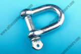 Fábrica do parafuso do fornecedor G210 Drop Forged Carbon Steel D Shackle Rigging