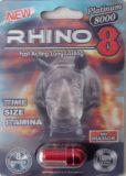 3D Rinoceros 8 Krachtige Mannelijke Verhoging Pllls van de Verpakking met de Prijs van de Fabriek