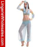 Kostuum van de Buikdans van de Chiffon van de Nachten van de Kleding van de Partij van Halloween het Arabische