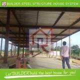 タイのプロジェクトの鉄骨構造の移動式プレハブの家