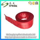 Weifang OEM 제안 PVC에 의하여 놓이는 편평한 농업 관개 호스 관
