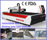 Glorystar GS-F3015 500W Máquina de Corte Láser Fibra con CE& FDA para Metal