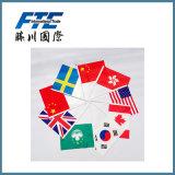 Bandiere nazionali poco costose differenti dei paesi di abitudine per i Giochi Olimpici