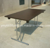 Rectangle Steel Leg Folding Table