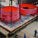 강철 주물 시멘트 가마를 위한 큰 주문을 받아서 만들어진 회전하는 킬른 타이어