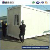 Портативный модульный панельный дом с стальной конструкцией