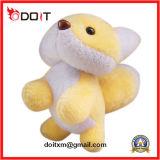 Brinquedo enchido luxuoso do Fox do Fox do animal enchido do amarelo
