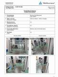 Edelstahl-Handlauf-Glasschelle für Glasbalustrade