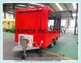 De Aanhangwagen die van de Room van de Rijst van Counte van de Drank van de Aanhangwagens van de Concessie van remmen de Aanhangwagen van de Caravan roosteren