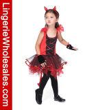 Costume платья дьявола Halloween Cosplay малышей для девушки