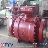 ASTM Stainless 또는 Forged Steel Trunnion Mounted Ball Valve