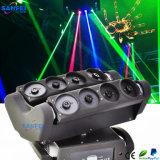 8 cabezas RGB Spider Laser Moving Head Beam disco luz (SF-300G)