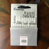 Sac UV de cadeau de papier de joyeux anniversaire de modèle d'endroit