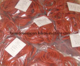 De alta calidad Colourfull de gran diámetro de Viton y caucho de silicona y anillo de nitrilo O