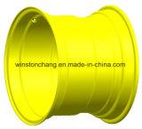 Roue en acier de Dw25ax26 Dw20ax26 pour la remorque d'agriculture et l'instrument de ferme