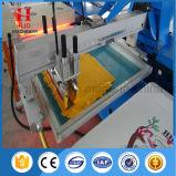 8 machines d'impression ovales d'écran de couleurs pour le T-shirt et le textile