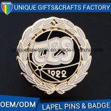 販売のためのOEMの衣服の金属のバッジ