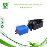 Paquet de batterie Li-ion de la vente en gros 18650 2s1p 7.2V 2600mAh pour des lumières de Noël