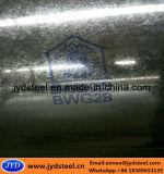Bwgは塗られたロゴの電流を通された鋼鉄パネルを波形を付けた