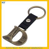Paris-Land-Firmenzeichen-Entwurf volles Metall überzogenes Keychain - v-Zeichen
