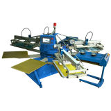 Usine d'Enconomic des couleurs Spe-154/10 4 fournissant la machine d'impression non-tissée automatique d'écran d'imprimeur d'écran de sac