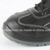 Zapatos de funcionamiento escotados de los hombres de los zapatos de seguridad de la inyección de la PU RS8123