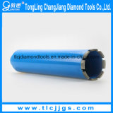Tip Hollow Core Drill Bit del diamante per Cutting Reinforced Concrete