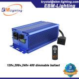 120V/208V/240V CMH/Mh/HPS 400W Vorschaltgerät mit IR Fernsteuerungs