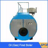 Выход пара 2 тонн, природный газ, тепловозный тип жаротрубный котел раковины