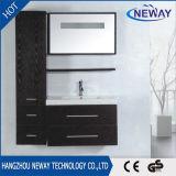 Moderne Wand Belüftung-Badezimmer-Eitelkeit mit doppeltem Bassin
