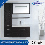 Самомоднейшая тщета ванной комнаты PVC стены с двойным тазиком