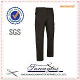 Pantalones uniformes industriales largos del cargo de Ladys