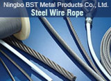 Steel Wire Rope (6 * 19S ou 6 * 19W)