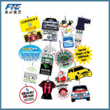Tema de Natal Papai Noel Car Air Freshener for Promotion Gift