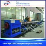 Автомат для резки стальной трубы плазмы 3 Axises для резца трубы Kr-Xy3 диаметра 500mm