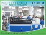 Machine en plastique conique d'extrusion de tube/pipe de la boudineuse à vis PVC/UPVC