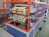 Máquina de alto rendimiento de la protuberancia de la tarjeta de ventana del PVC