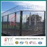 Frontière de sécurité en accordéon galvanisée de barbelé de sûreté de prison de fil de rasoir plongée par 430