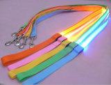 안전 밧줄 벨트 번쩍이는 하네스 LED 개 가죽끈