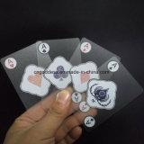 Подгонянные Washable 100% пластичные играя карточки покера, изготовленный на заказ играя карточки
