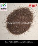 Al2O3: 85% 거친 폭파를 위한 최소한도 브라운 알루미늄 산화물