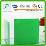 가는 가장자리를 가진 6.38-16.76mm 착색된 PVB 박판으로 만들어진 유리 탄알 증거 또는 샌드위치 유리