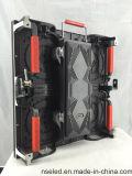 Telas video do diodo emissor de luz P3.91/indicador de diodo emissor de luz interno do arrendamento para o estágio usado